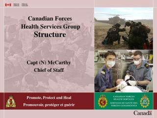 Canadian Forces  Health Services Group Structure