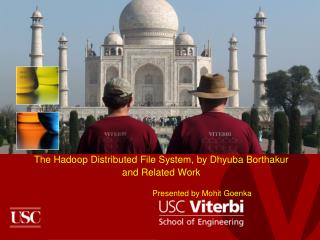The  Hadoop  Distributed File System, by  Dhyuba Borthakur and Related Work