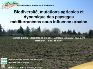 Action Publique, Agriculture & Biodiversité