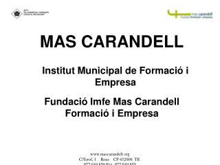 Institut Municipal de Formació i Empresa