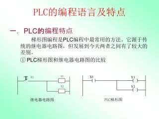 PLC 的编程语言及特点