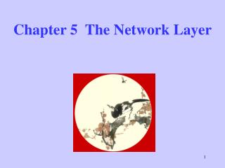 Chapter 5  The Network Layer