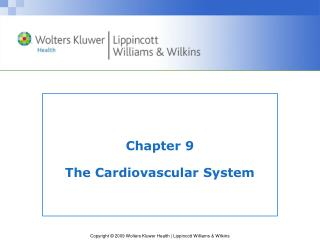 Chapter 9 The Cardiovascular System