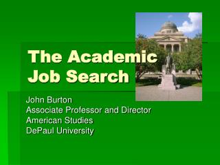 The Academic Job Search