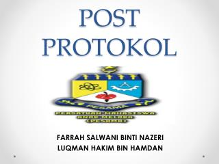 POST PROTOKOL