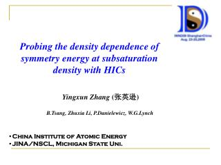 Probing the density dependence of symmetry energy at subsaturation density with HICs