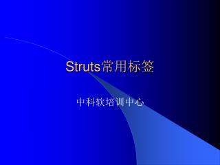 Struts 常用标签