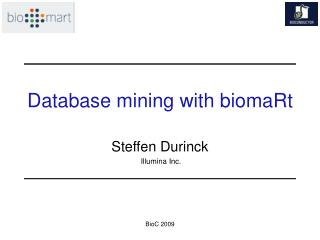 Database mining with biomaRt