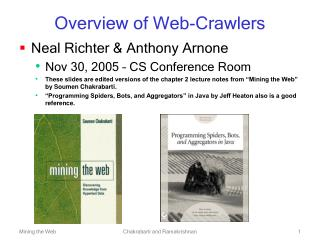 Overview of Web-Crawlers