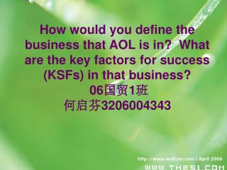 What are the main obstacles to international expansion in this business? 黄碧云  3206004342