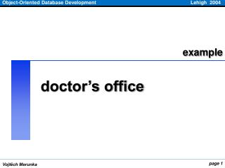 doctor�s office