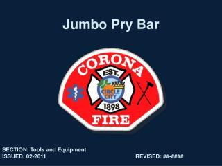 Jumbo Pry Bar