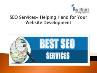 SEO Services- Helping Hand for Your Website Development
