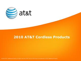 2010 AT&T Cordless Products