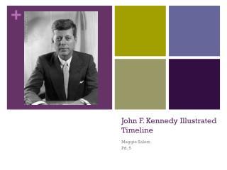John F. Kennedy Illustrated Timeline