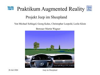 Praktikum Augmented Reality