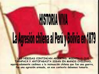 La Agresi n chilena 1879-83, contin a