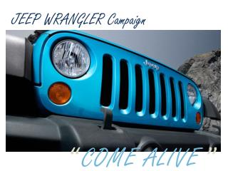 JEEP WRANGLER Campaign