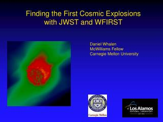 Finding the First Cosmic Explosions with JWST and WFIRST