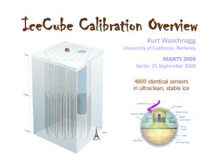 IceCube Calibration Overview