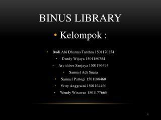 BINUS LIBRARY
