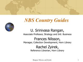 NBS Country Guides