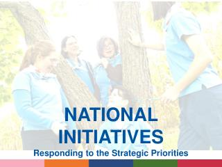 NATIONAL INITIATIVES Responding to the Strategic Priorities