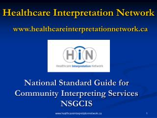 Healthcare Interpretation Network