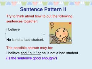 Sentence Pattern II