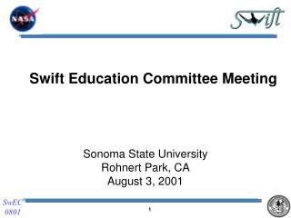 Swift Education Committee Meeting