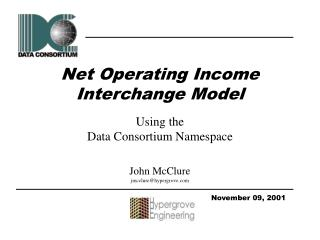 Net Operating Income  Interchange Model