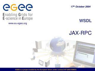 WSDL JAX-RPC
