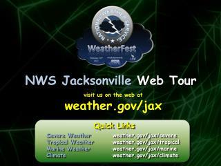 NWS Jacksonville  Web Tour