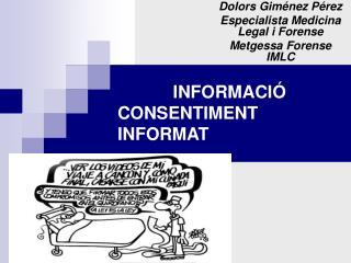 INFORMACI� CONSENTIMENT INFORMAT