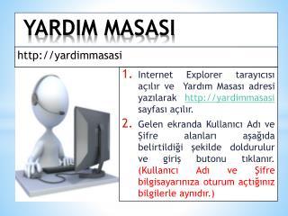 YARDIM MASASI