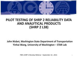 John  Nisbet , Washington State  Department of Transportation