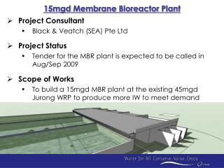15mgd Membrane Bioreactor Plant