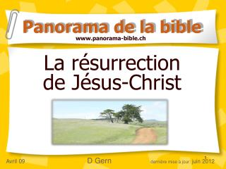 La r surrection  de J sus-Christ