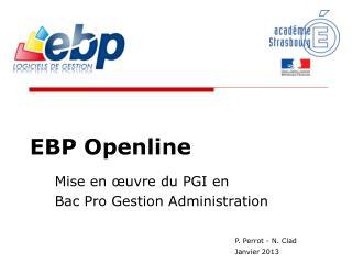 EBP Openline