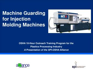 Machine Guarding  for Injection Molding Machines