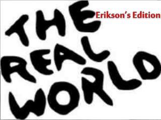 Erikson s Edition