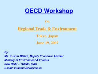 OECD Workshop