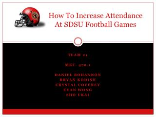 How To Increase Attendance At SDSU Football Games