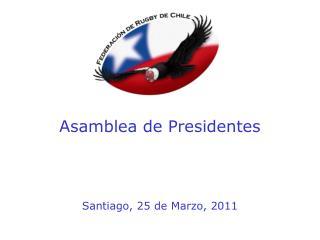 Asamblea de Presidentes
