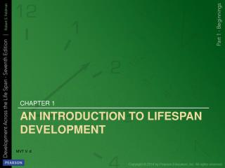 An Introduction to Lifespan Development