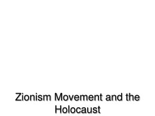 what is the relationship between nationalism and zionism