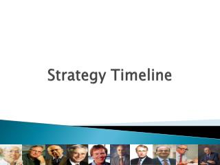 Strategy Timeline