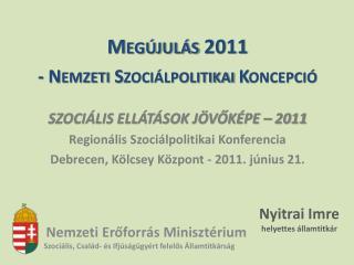 Nemzeti Erőforrás Minisztérium Szociális, Család- és Ifjúságügyért felelős Államtitkárság
