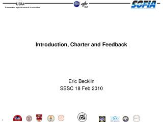 Introduction, Charter and Feedback