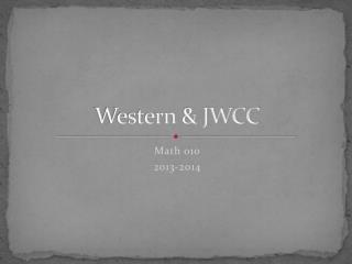 Western & JWCC